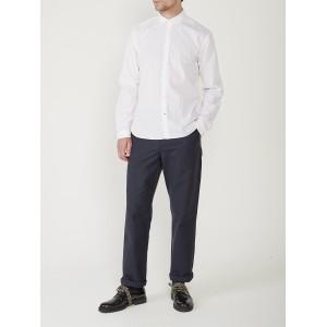 Oliver Spencer Clerkenwell Tab Shirt Abbott White