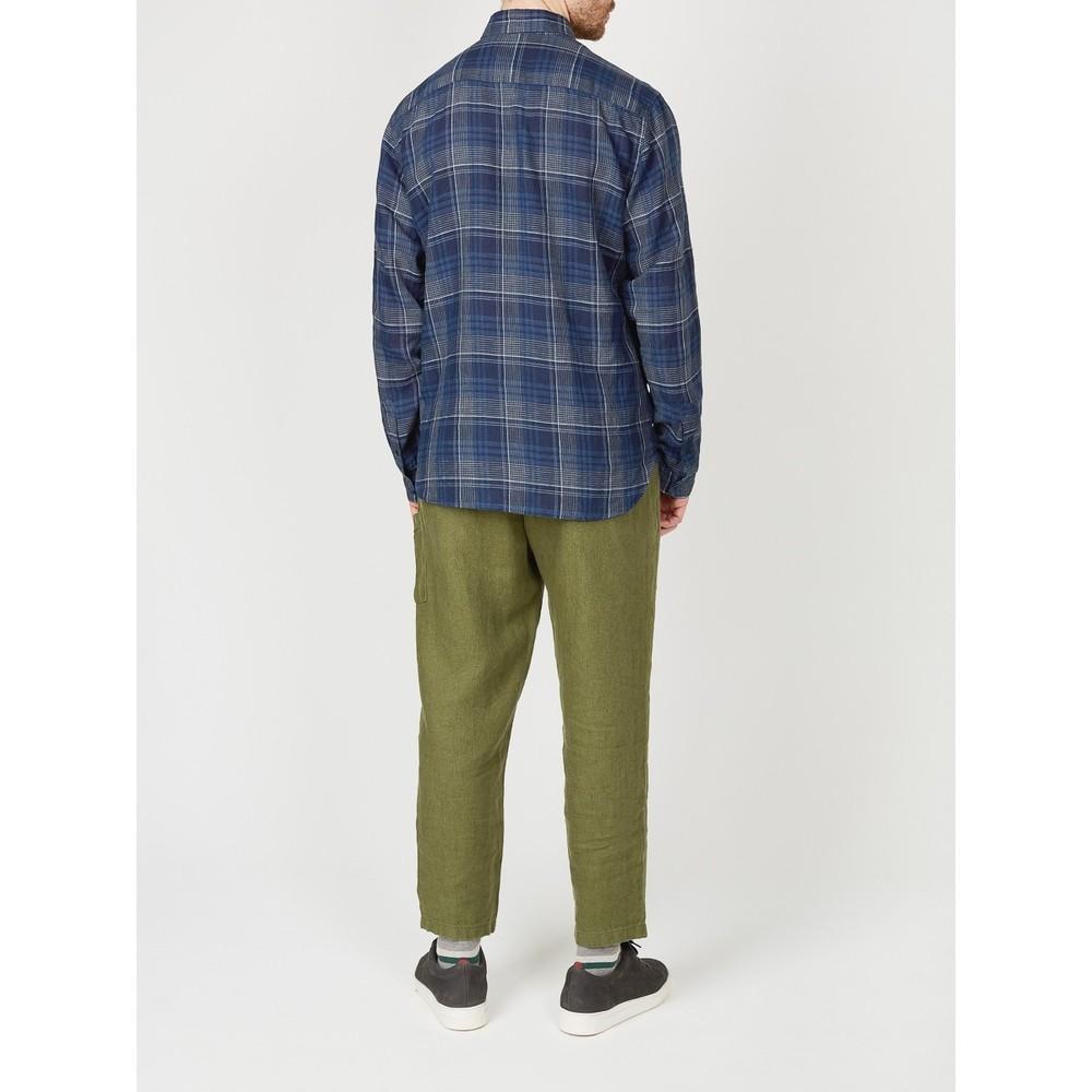 Oliver Spencer Brook Shirt Heckfield Indigo