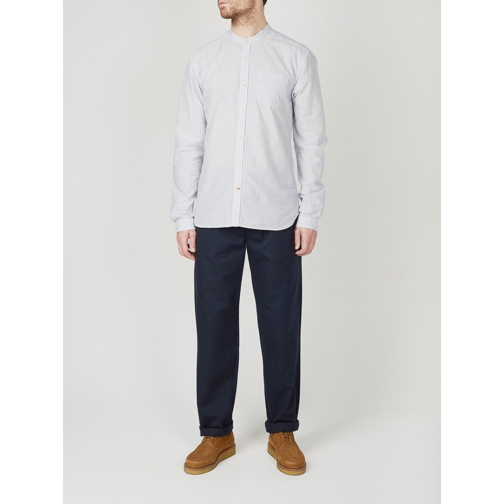 Oliver Spencer Drawstring Trouser Eden Navy