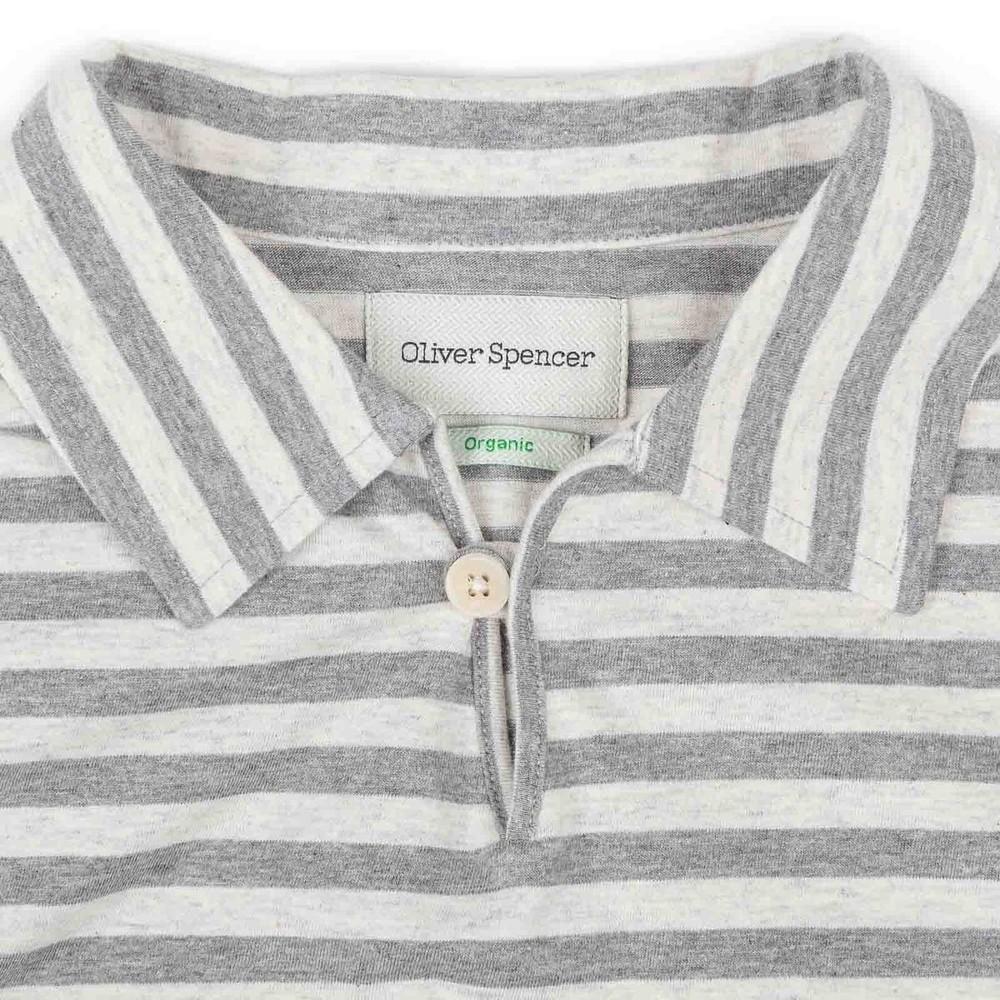 Oliver Spencer Hawthorn Polo Capri Grey