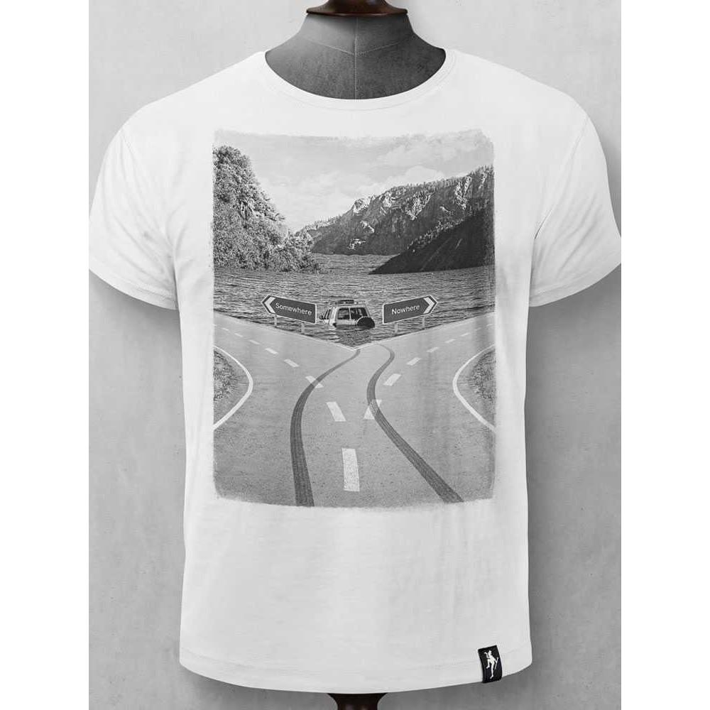 Dirty Velvet Destination Unknown T-Shirt White