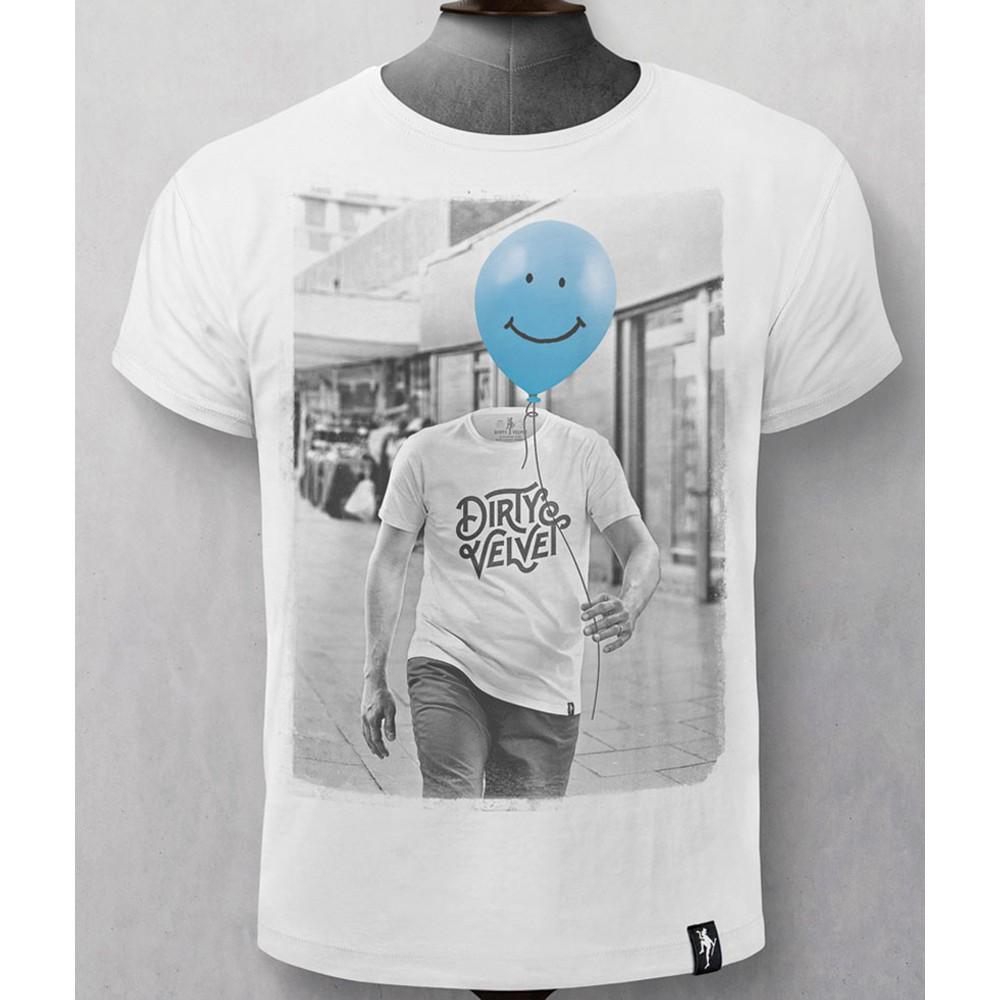 Dirty Velvet Uplifted T-Shirt White