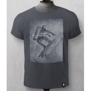 Star Surfer T Shirt Charcoal