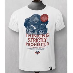 Thinking Prohibited T Shirt White