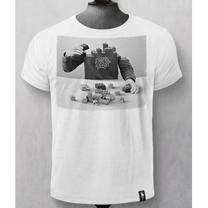 Pick Up The Pieces T Shirt White