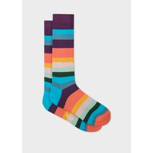 Artist Stripe Socks Multicolour