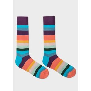 Paul Smith Accessories Artist Stripe Socks Multicolour