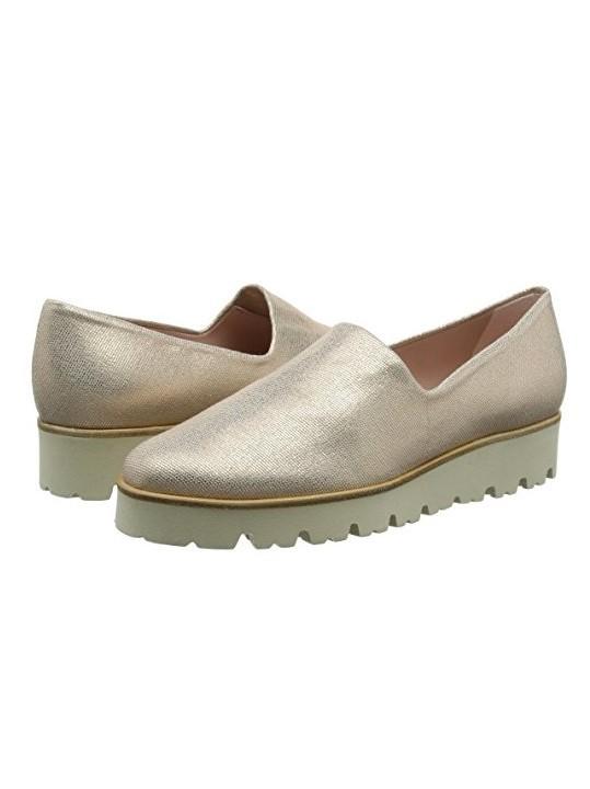Pretty Ballerinas Charlene Metallic Shoe Sand