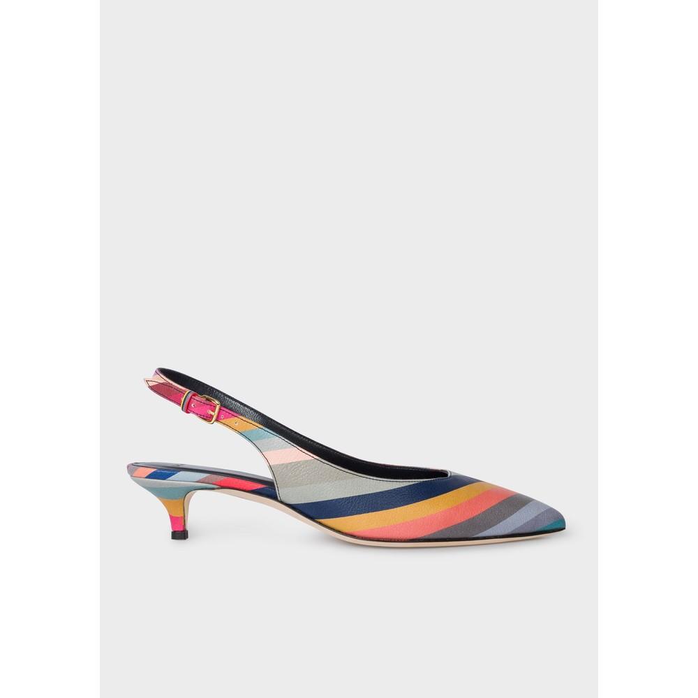 Paul Smith Shoes Ozella Swirl Low Heel Shoe Multicolour