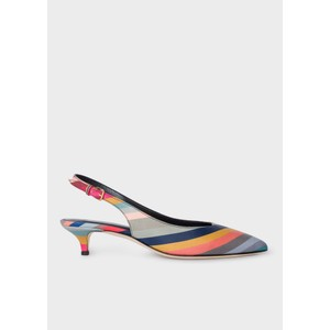 Ozella Swirl Low Heel Shoe Multicolour
