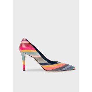 Blanche Swirl Point Heels Multi