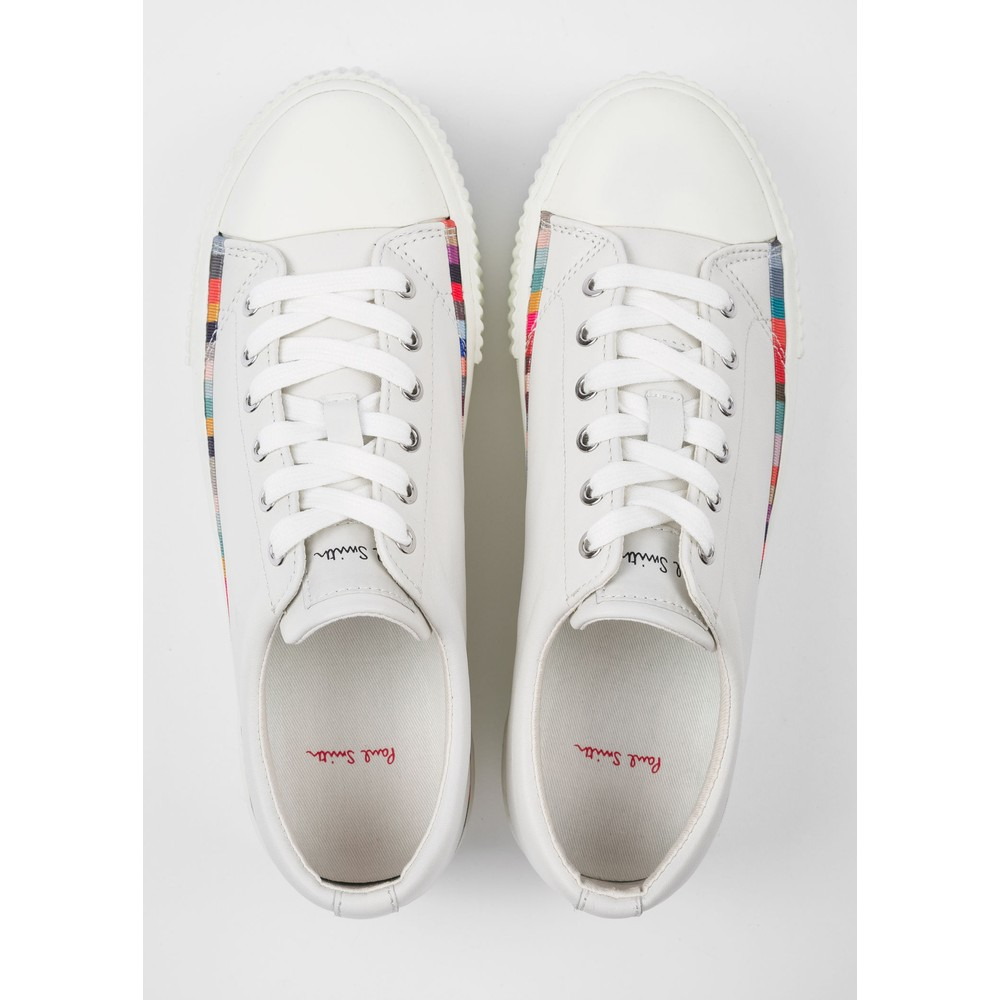 Paul Smith Shoes Miho Flatform Trainer White