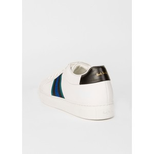 Paul Smith Shoes Basso Striped Panel Trainers White