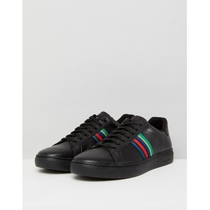 Lapin Leather Trainers Black