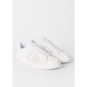Paul Smith Shoes Rex Emb Stripes Trainer White