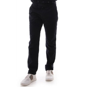 Stitched Mid Fit Chino Dark Navy
