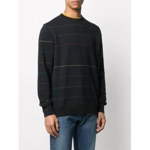 Paul Smith Fine Line Sweatshirt in Black