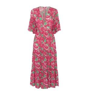 Alice Glorious Bird Dress Pink/Green