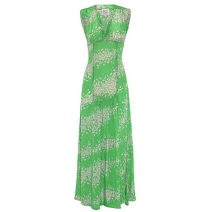 Primrose Park Jupiter Leo Galaxy Dress Green/Pink