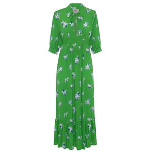Loopy Lou Pixie Floral Dress Green
