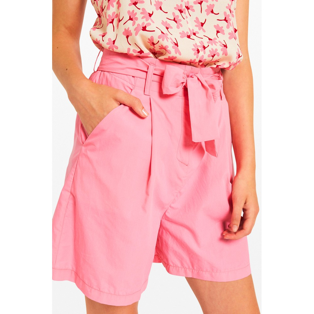 Ottod'Ame Poplin Shorts Pink