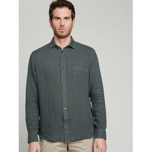 Paul Pat L/S 1 Pkt Shirt Graphite