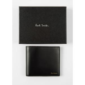 Paul Smith Accessories Mini Coin Billfold Black