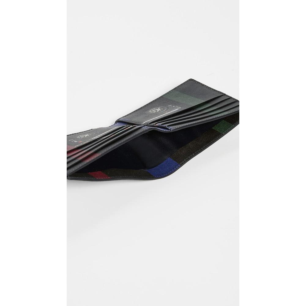 Paul Smith Accessories Mini Billfold Wallet Black/Multi