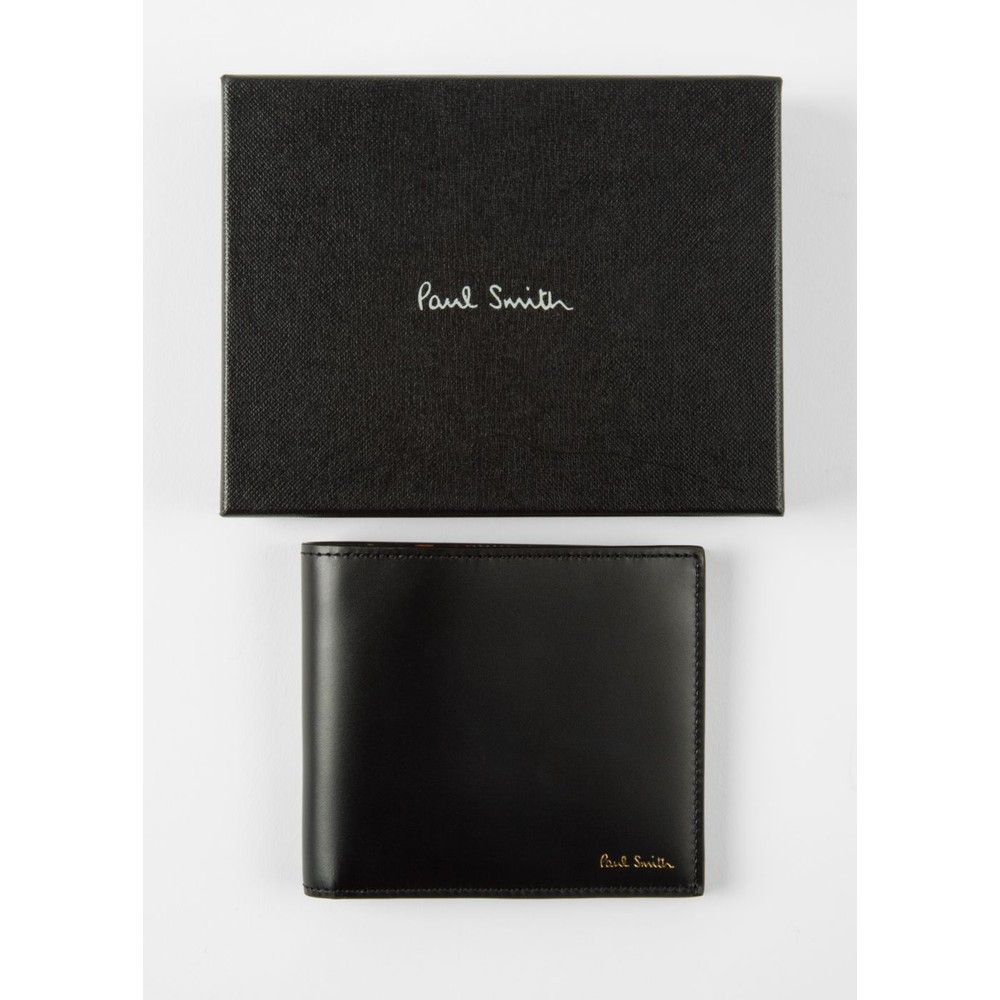 Paul Smith Accessories Mini Coin Bfold Wllt Black