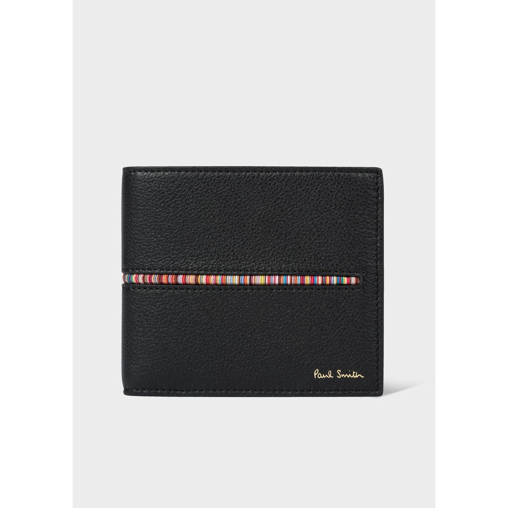Paul Smith Accessories Insert Sig Stripe BF Wallet Black/Multi