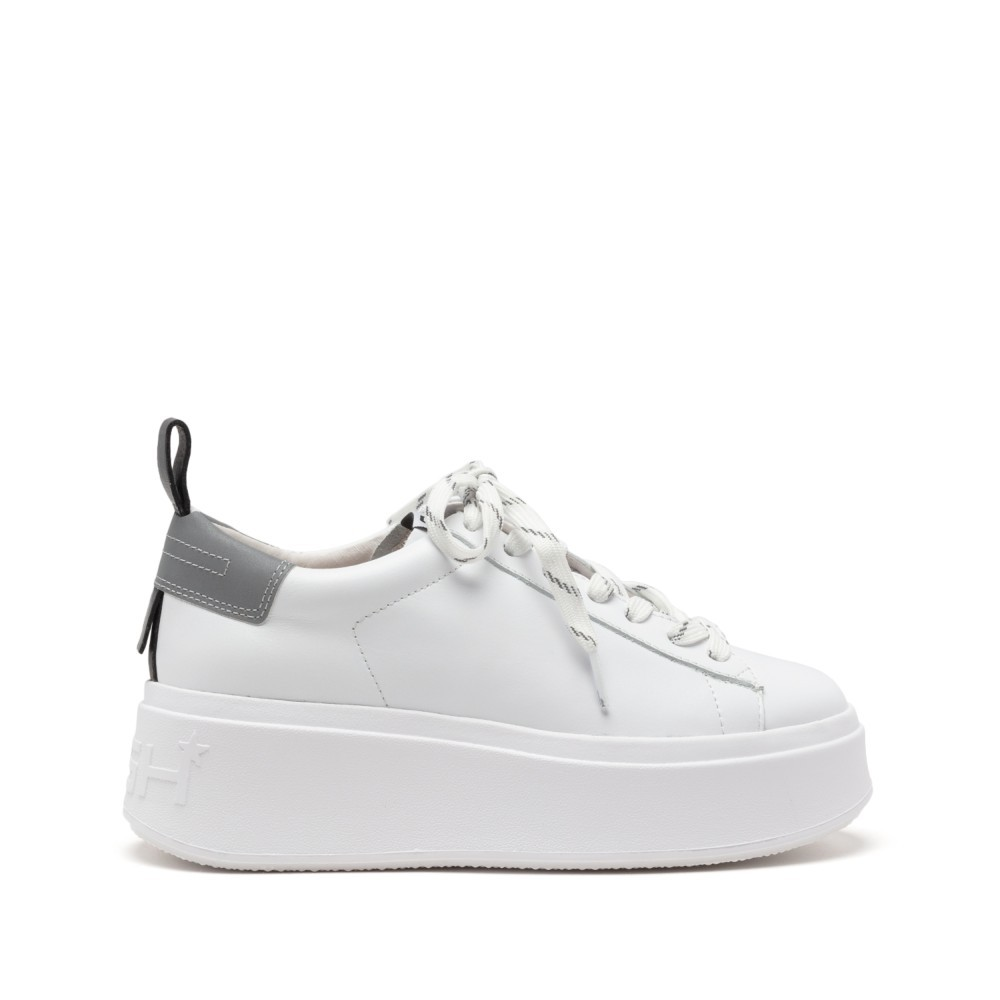 Ash Moon-Nappa Calf/Mesh White/Silver/Black