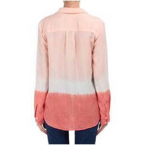 Bella Dahl Classic Hipster Shirt Bright Coral