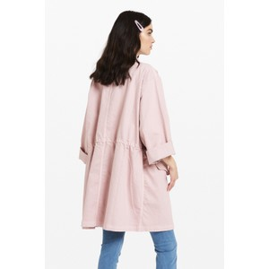 Ottod'Ame 4 Pocket Zip Coat Salmon