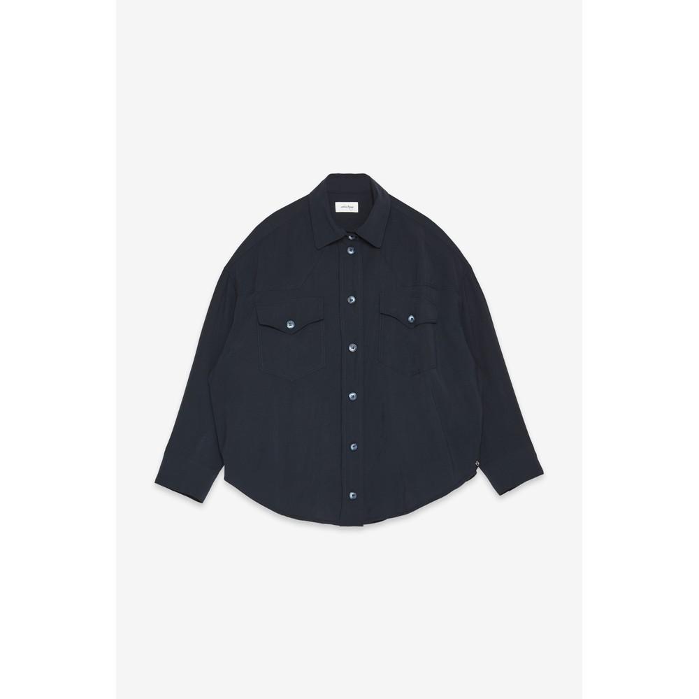 Ottod'Ame 2 Pocket Shirt Navy