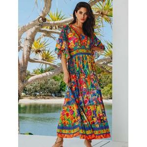 Rumba Maxi Dress Multi Print