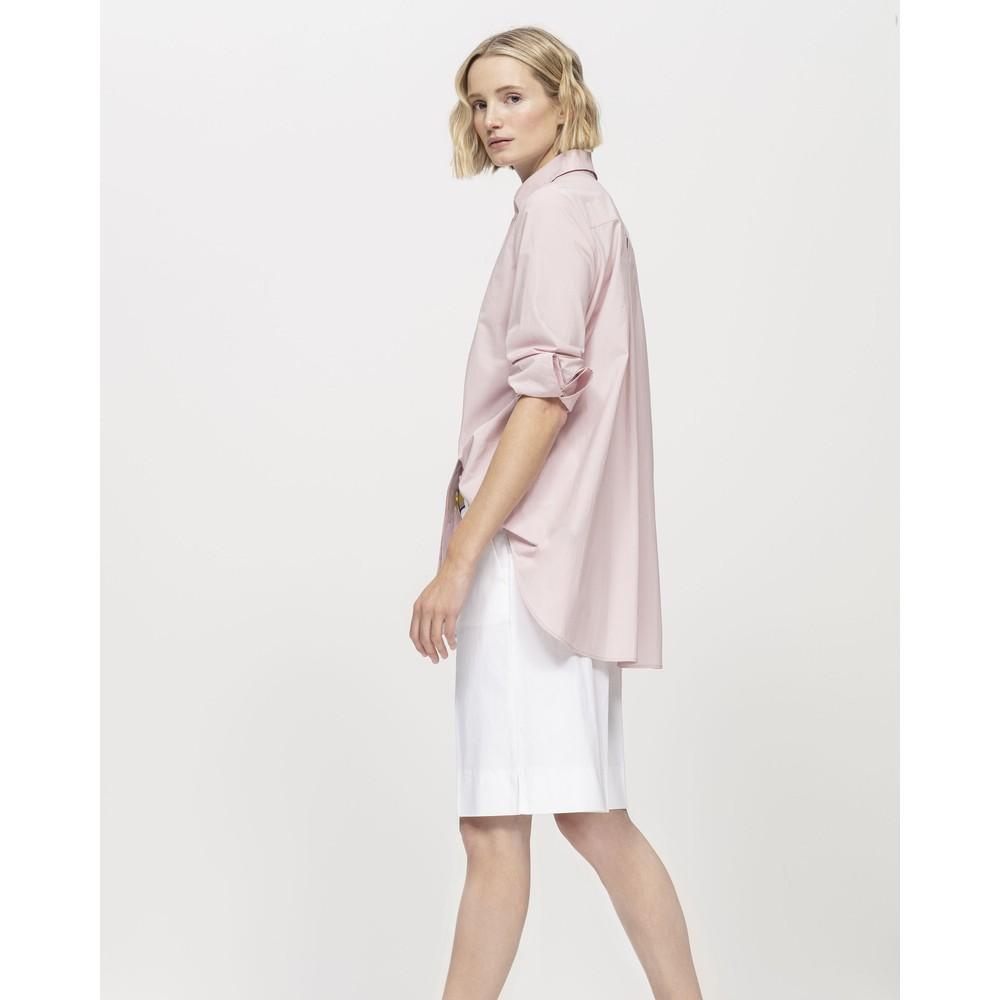 Luisa Cerano Light Cotton Wide Leg Shorts White