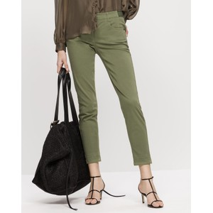 High Stretch Skinny Trouser Light Olive