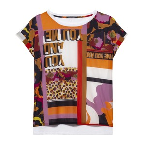 S/S You and Me/Pattern Top Multi