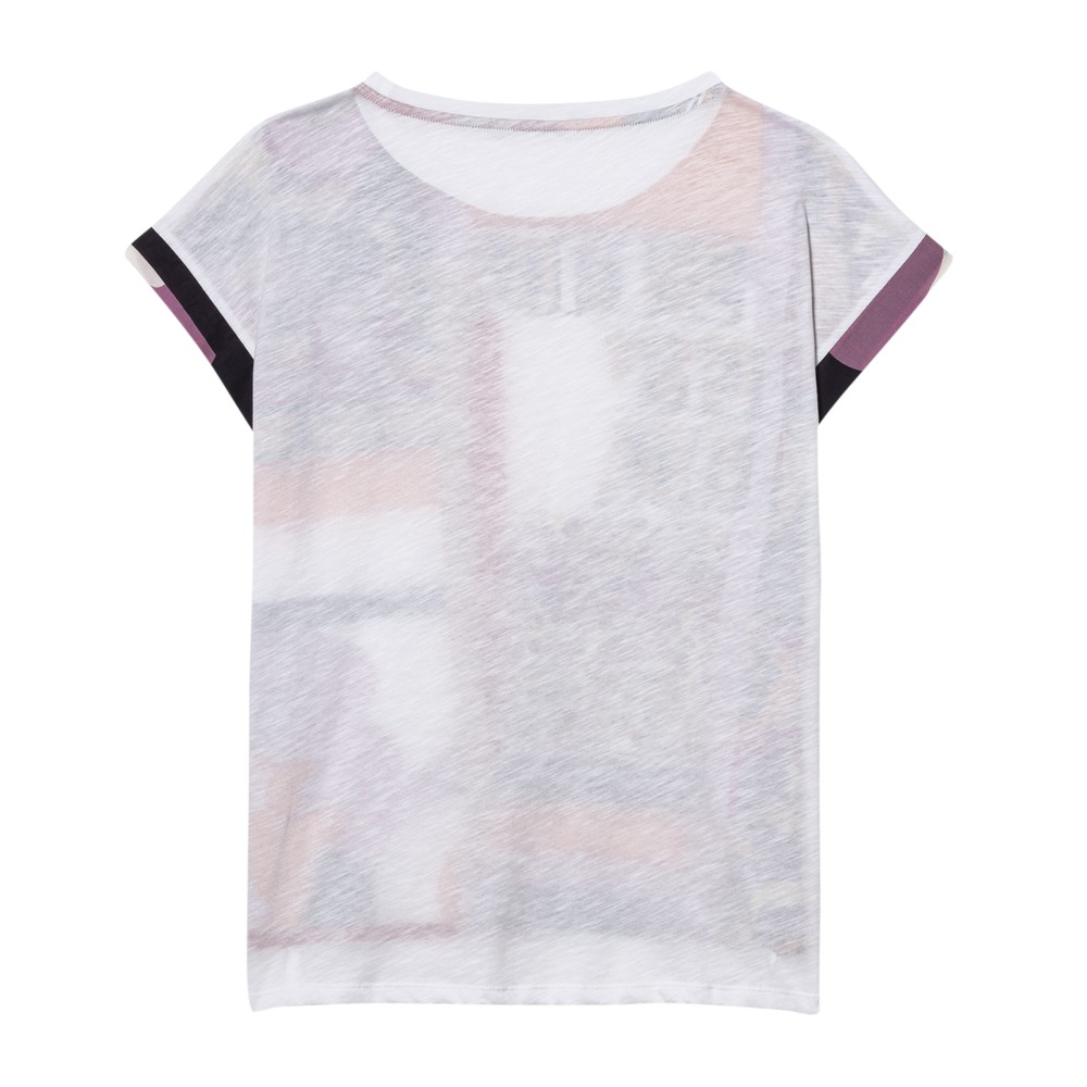 Luisa Cerano S/S You and Me/Pattern Top Multi