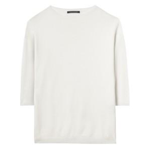 S/S Cotton Jumper Off White