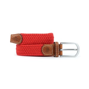 Billybelt The Braided Belt in Red Grenade