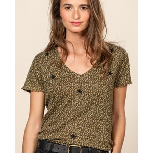 Leopard/Star T-Shirt Leopard
