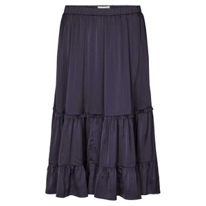 Sana Ruffled Skirt Dark Navy