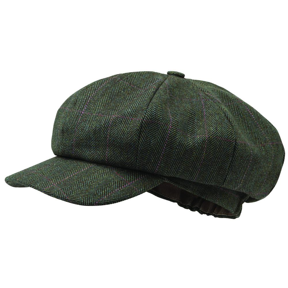 Schoffel Country Bakerboy Cap II Cavell Tweed