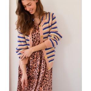 Aliya Leopard Print Dress Pink/Black