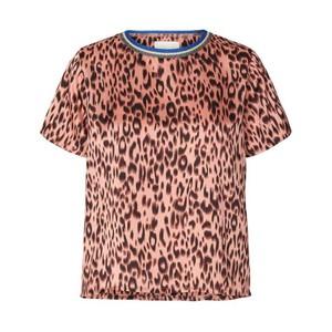 Lina Leopard Print Tee Pink/Black