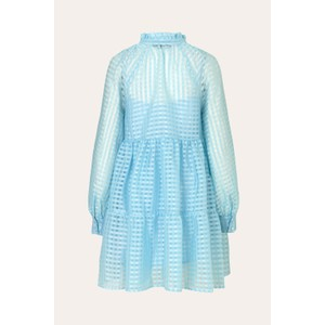 Stine Goya Jasmine L/S Gingham Dress Ice