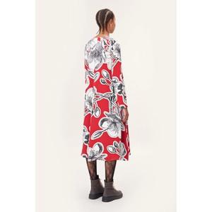 Stine Goya Miri V/N Print Dress Jasmine Dahlia