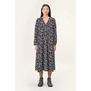 Stine Goya Leila V/N Snake Print Dress Snakes
