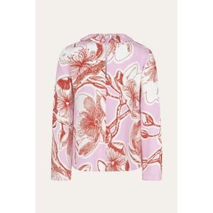 Stine Goya Poppy Frill Neck Blouse Jasmine Pink